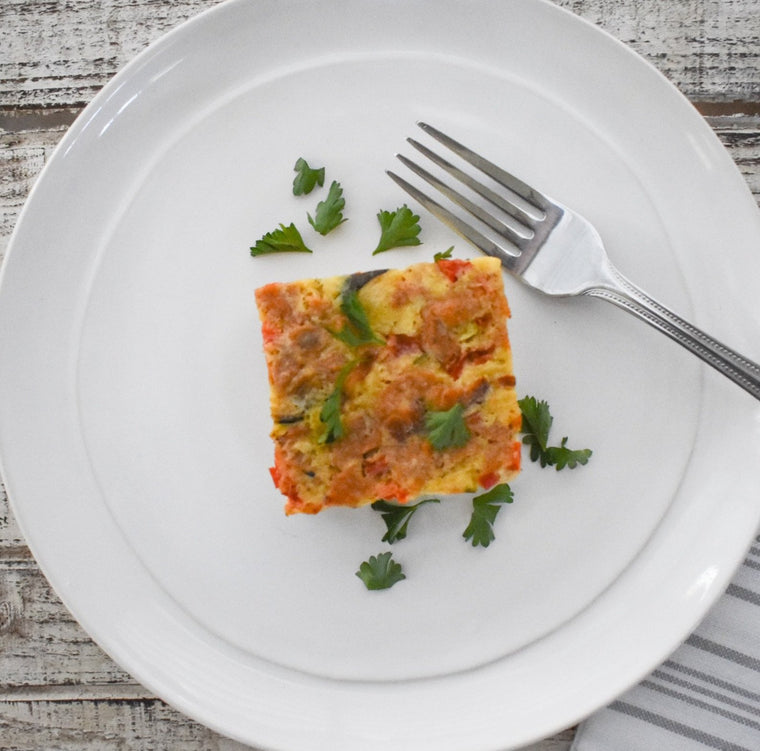 Egg Frittata, 3 Servings (GF)
