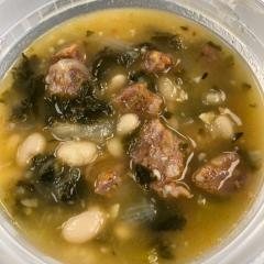 Sausage, Kale and White Bean Soup (GF)