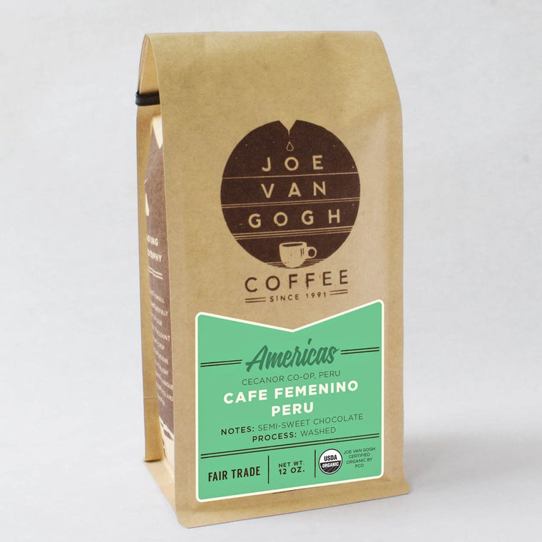 Joe Van Gogh Organic Cafe Femenino Coffee