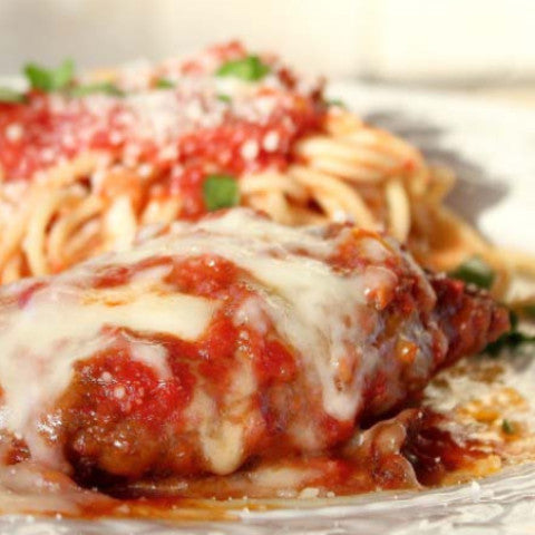 Chicken Parmesan - Tastefully Served