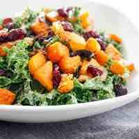 Kale and Butternut Squash Salad (GF)