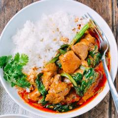 Red Curry Chicken and Vegetables  (GF)