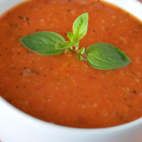 Creamy Tomato Bisque (GF, V) - Tastefully Served