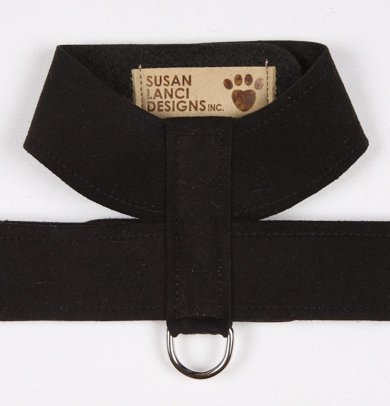 Plain & Simple Ultrasuede Tinkie Harness by Susan Lanci Puppy's Home