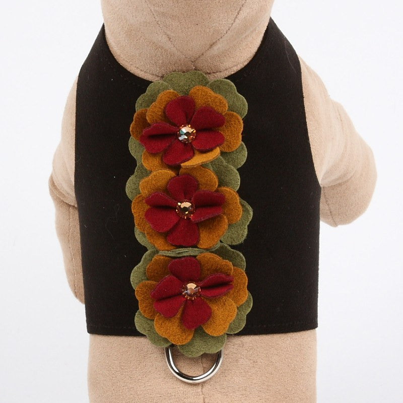 Autumn Flowers Bailey II Dog Harness by Susan Lanci Puppy's Home