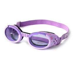 Lilac with Flowers ILS Doggles- Dog Goggles Puppy's Home
