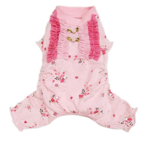Elena Pink Rosebud Dog Pajamas Puppy's Home