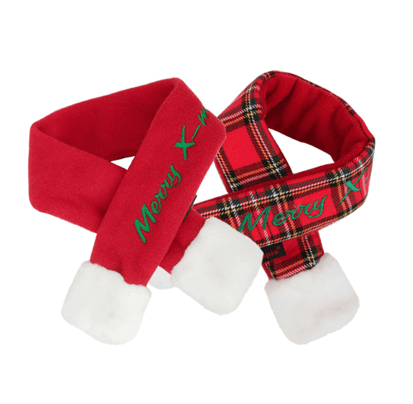 Merry X-Mas Holiday Dog Scarf Puppy's Home