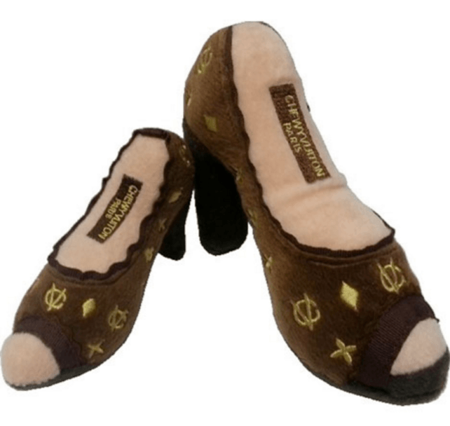 Chewy Vuiton Shoe Toy Puppy's Home