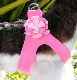 Alexandra Swarovski Crystal Step-In Dog Harness by Susan Lanci Puppy's Home
