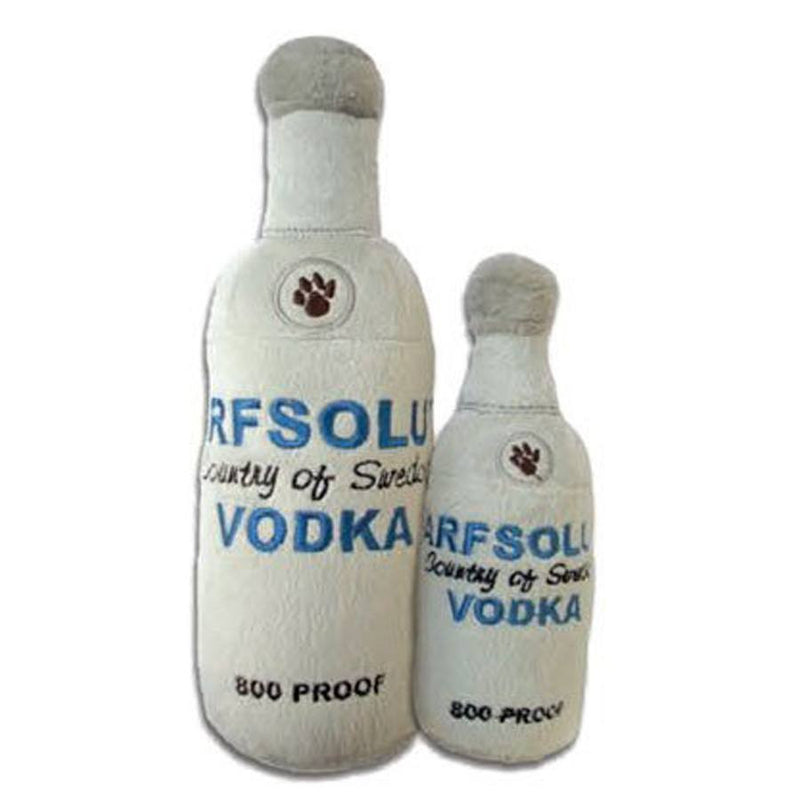 Arfsolut Vodka Plush Dog Toy Puppy's Home