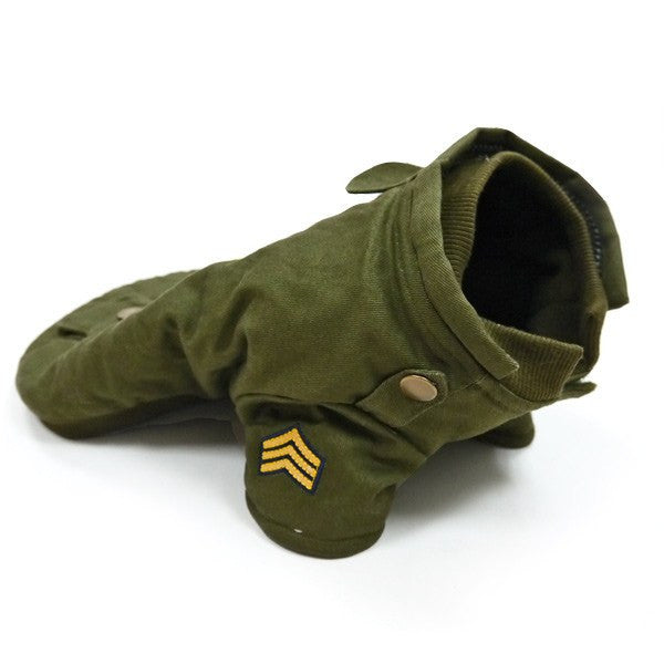 US Army Dog Coat - Final Sale Puppy's Home