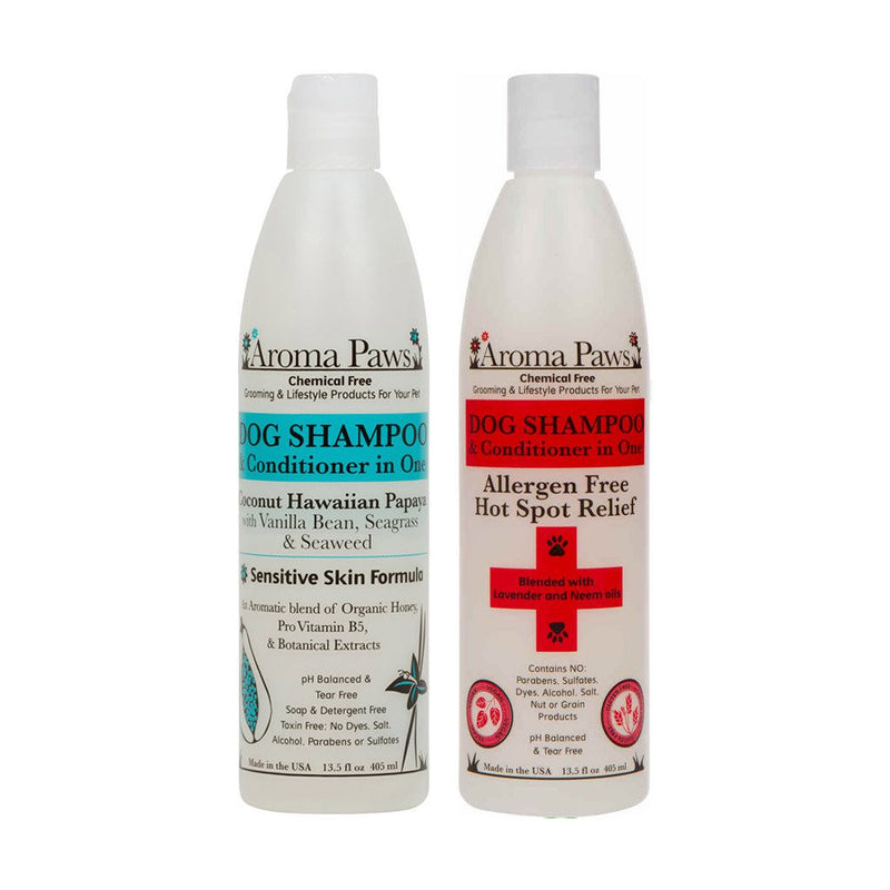 Aroma Paws Luxury Dog Shampoo & Conditioner in One Puppy's Home