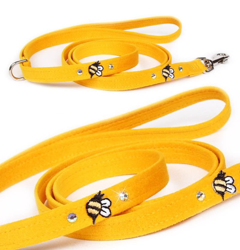 Bees in the Garden Leash by Susan Lanci Puppy's Home