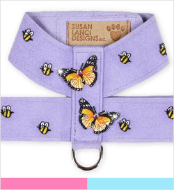 Butterflies and Bees Tinkie Dog Harness by Susan Lanci Puppy's Home