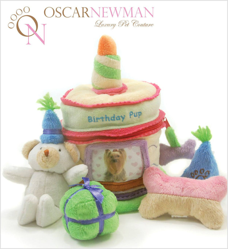 Birthday Surprise Cake Dog Toy Puppy's Home