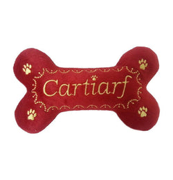 Cartiarf Bone Dog Plush Toy Puppy's Home
