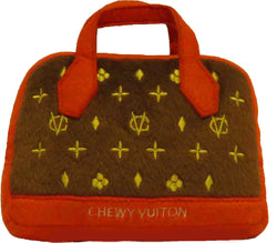 Chewy Vuiton Red Posh Trim Purse Puppy's Home