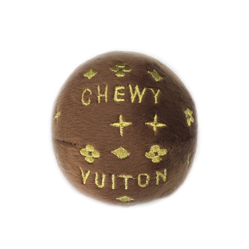 Chewy Vuiton Plush Ball Puppy's Home