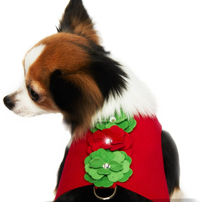 Holiday Tinkie's Garden Bailey II Dog Harness by Susan Lanci Puppy's Home