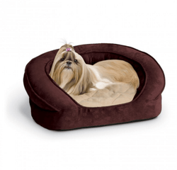 Deluxe Ortho Bolster Sleeper Dog Bed Puppy's Home