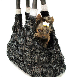 Duchess Luxury Dog Tote Carrier Puppy's Home