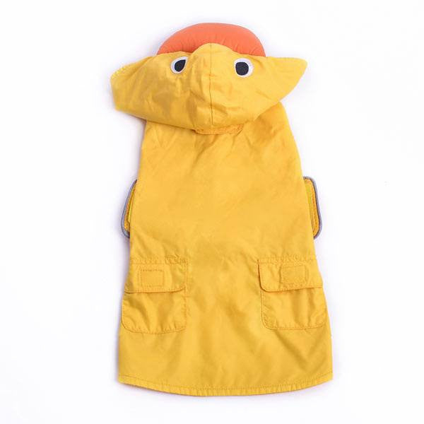 Rubber Duck Dog Raincoat Puppy's Home