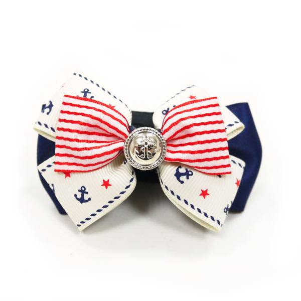 EasyBow Nautical Dog Bow Tie Puppy's Home