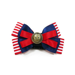 EasyBOW Satin Nautical Dog Bow Tie Puppy's Home