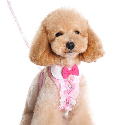 EasyGO Ruffle Dog Harness with Leash Puppy's Home