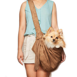 Fringe Dog Cuddle Carrier by Susan Lanci Puppy's Home