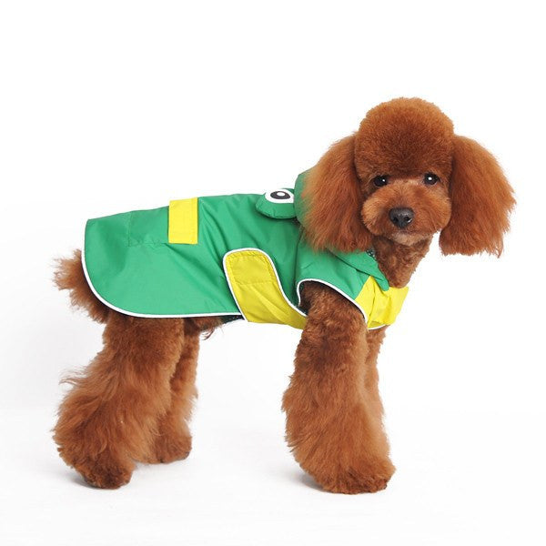 Frog Dog Raincoat Puppy's Home