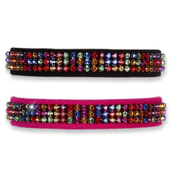 "Gemstone Swarovski Crystal Dog Collar 1/2"" wide by Susan Lanci Puppy's Home"