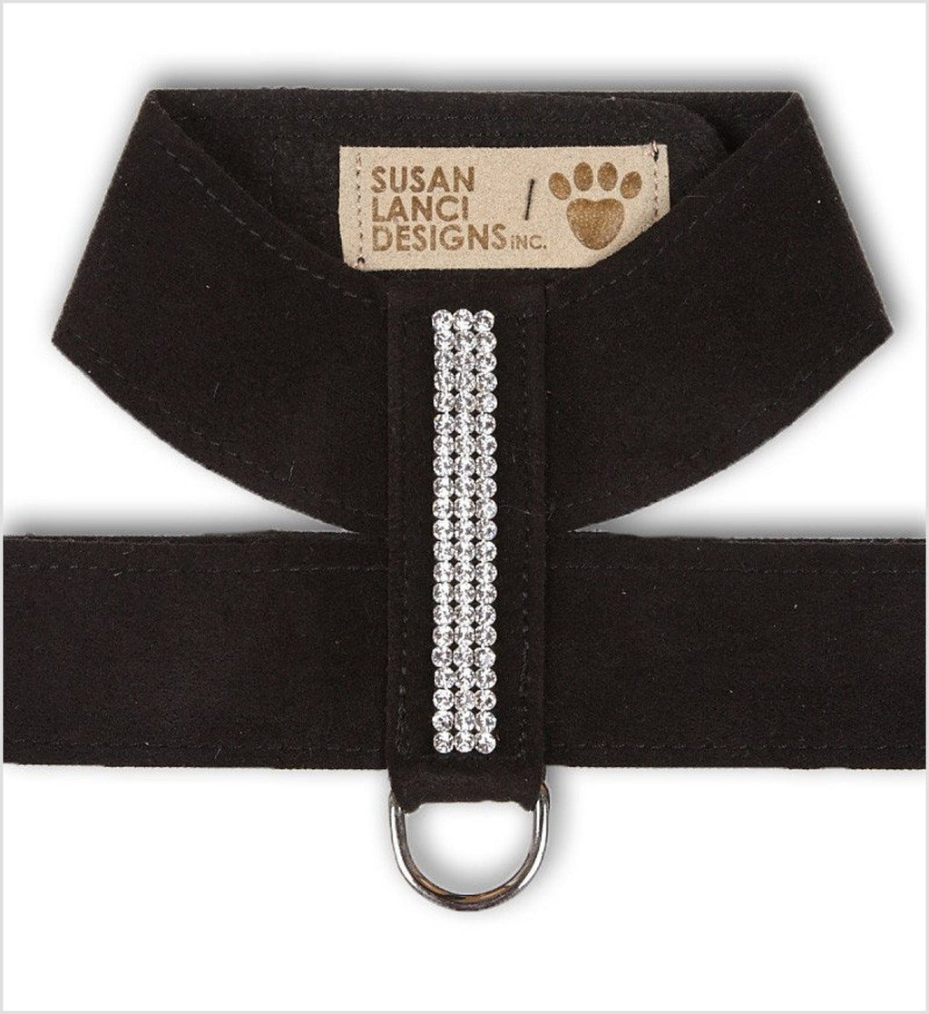 Giltmore 3 Row Swarovski Crystal Tinkie Dog Harness by Susan Lanci Puppy's Home