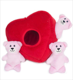 ZippyPaws Burrow- Heart N' Bears Puppy's Home