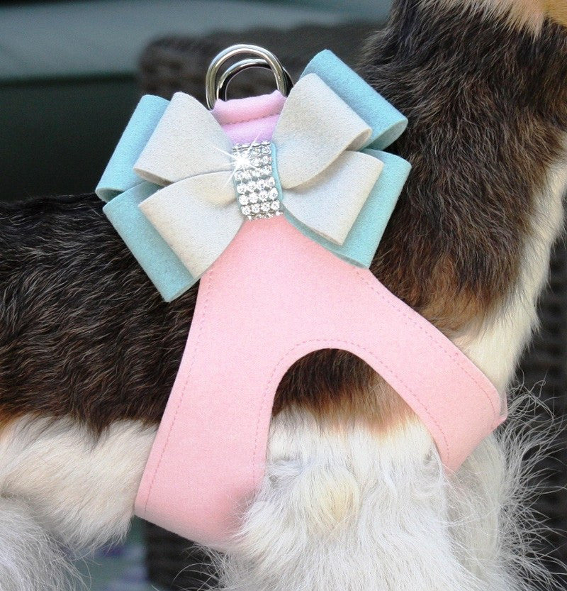 Hope Swarovski Crystal Step-In Dog Harness by Susan Lanci Puppy's Home