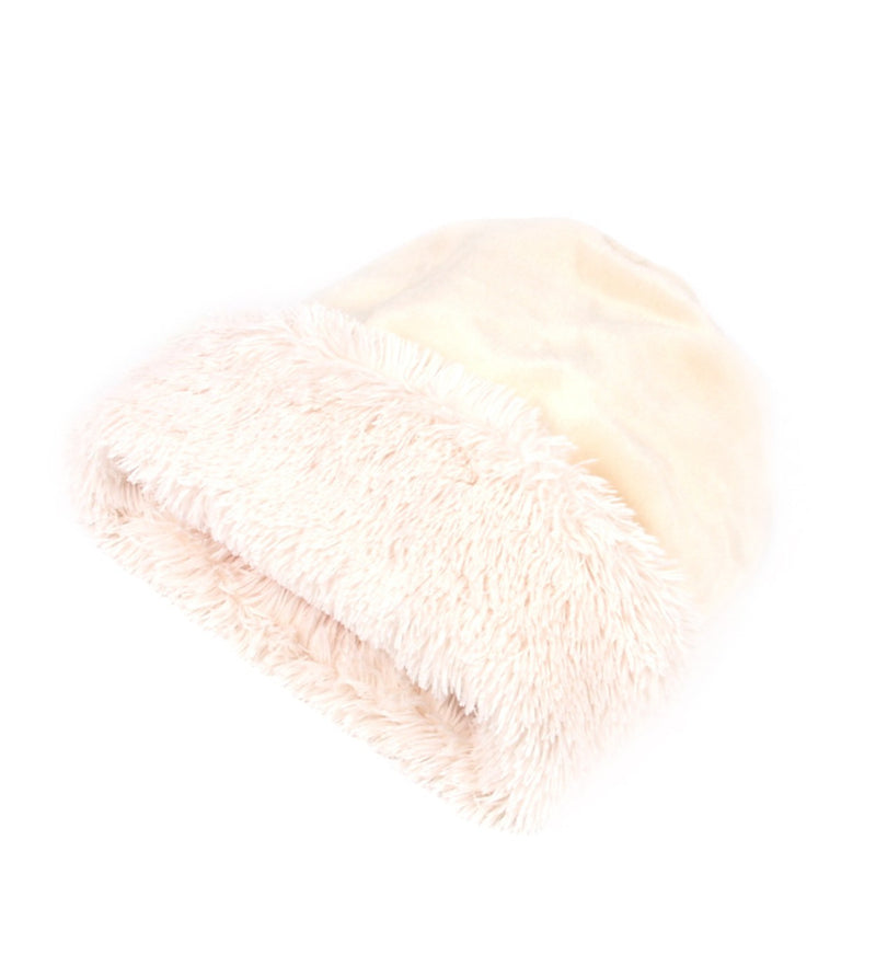 Cream Ivory Shag Cuddle Cup by Susan Lanci Puppy's Home