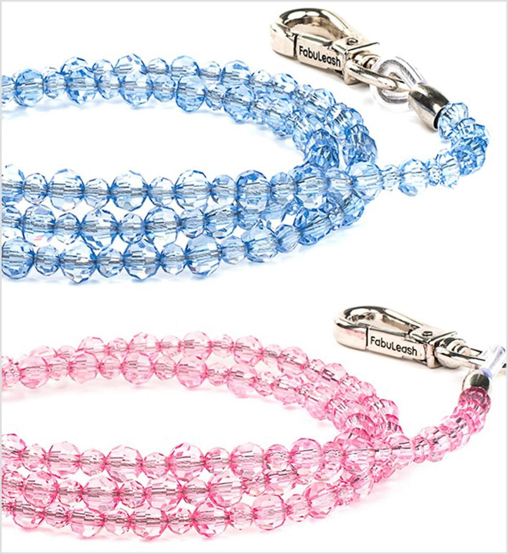 Jewel Beaded Luxury Dog Leash Puppy's Home