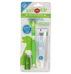 KissAble Dog Toothbrush & Toothpaste Combo Puppy's Home