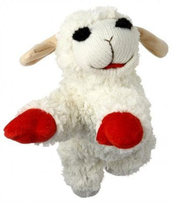 Lamb Chop Squeaky Dog Toy (3 sizes) Puppy's Home