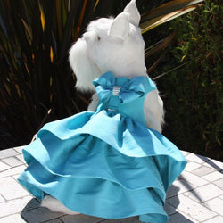 "The ""Madison"" Custom Dog Dress by Susan Lanci Puppy's Home"