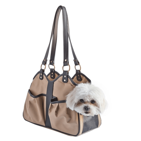 Metro Collection Dog Pet Carrier - Khaki Sable Puppy's Home