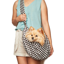 Windsor Check Cuddle Dog Carrier (6 styles) Puppy's Home