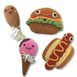 Knit Knacks Organic Cotton Toys- Food Puppy's Home