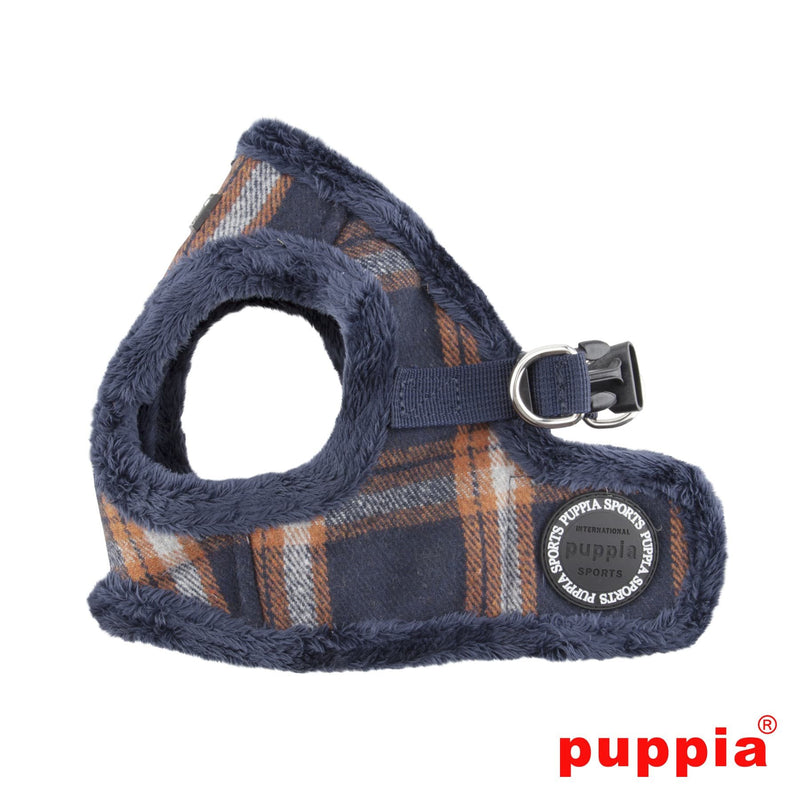 Kemp Lined Plaid Step-In Dog Harness Puppy's Home
