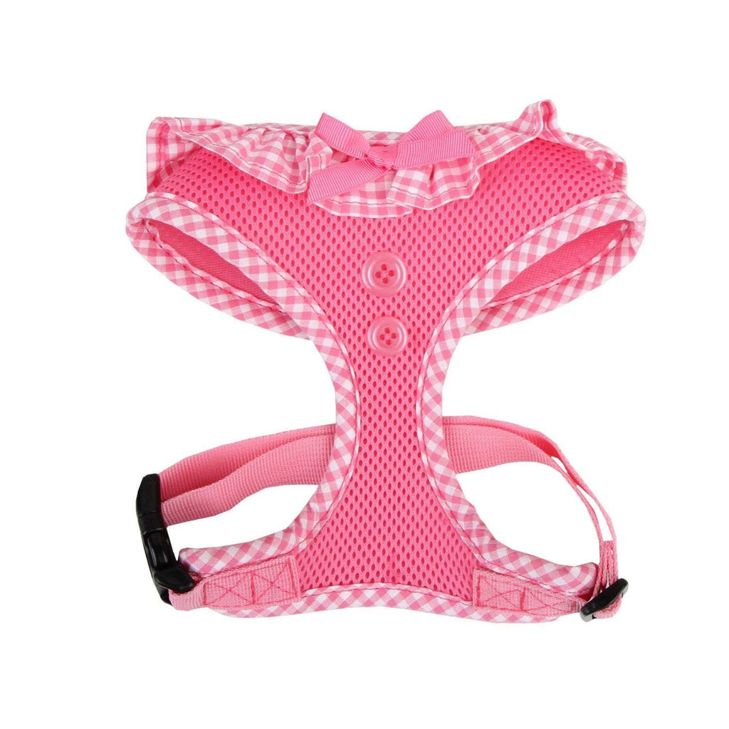 Pink Vivien Ruffle Harness Puppy's Home