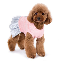 Party Princess Dog Sweater Dress Puppy's Home