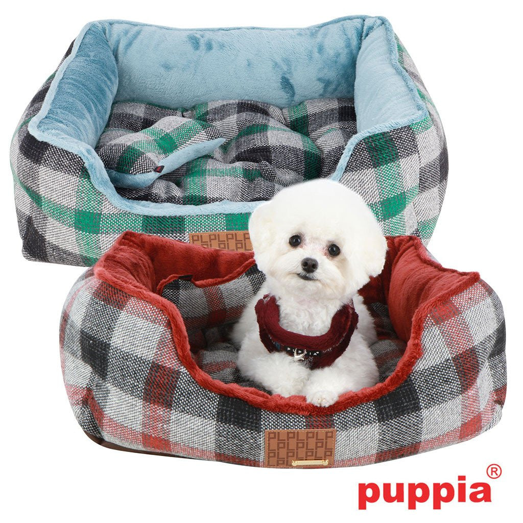 Sawyer Small Dog Bed with Matching Toy Puppy's Home