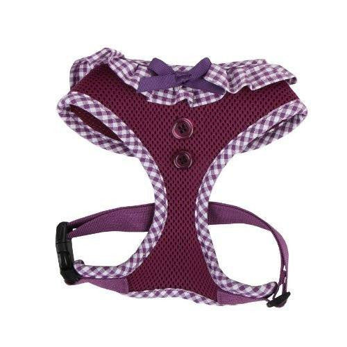 Purple Vivien Ruffle Harness Puppy's Home