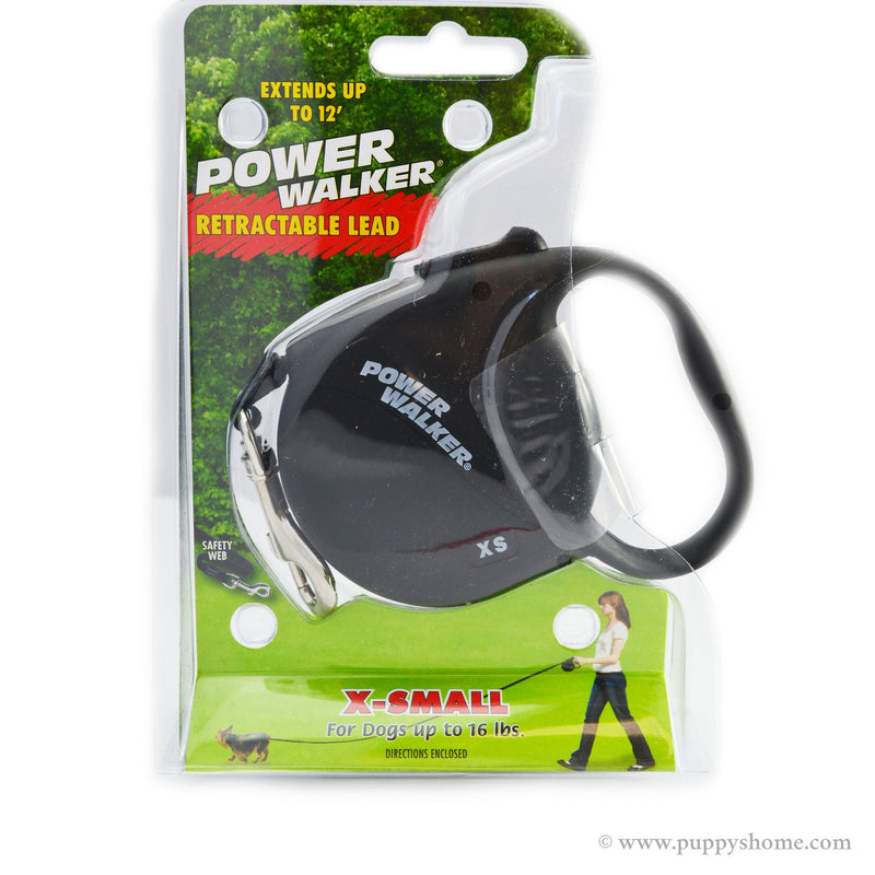 Power Walker® Retractable Dog Leash Puppy's Home